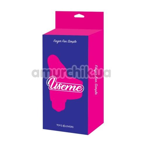 Вибронапалечник Useme Finger Fan Simple, розовый