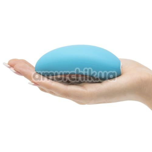 Клиторальный вибратор We-Vibe Wish (ви вайб виш голубой)