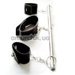 Растяжка с наручниками и ошейником - Фото №1