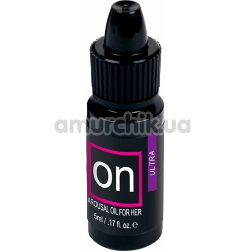 Возбуждающее масло Sensuva On Natural Arousal Oil For Her Ultra, 5 мл