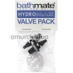 Набор для ремонта клапана гидропомп Bathmate Hydromax Valve Pack, чёрный - Фото №1