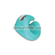 Вибронапалечник KEY Pyxis Finger Massager, голубой - Фото №1