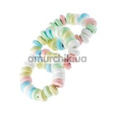 Съедобное эрекционное кольцо Candy Love Rings, 3 шт - Фото №1