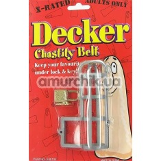 Клетка для пениса Decker Chastity Belt