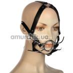 Кляп с расширителями для рта Пикантные Штучки, черный - Фото №1
