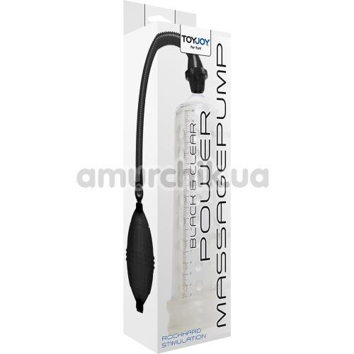 Вакуумная помпа Power Massage Pump, прозрачная
