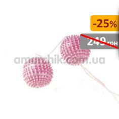 Купить Вагинальные шарики Girly Giggle Balls, светло-розовые