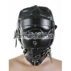 Закрытая маска с ремешками и замками - Фото №1