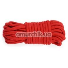 Веревка Fetish Bondage Rope, красная - Фото №1