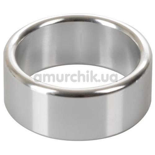 Эрекционное кольцо Alloy Metallic Ring Medium, серебряное