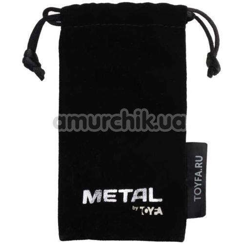 Интимный душ с 3 насадками Toyfa Metal 717128, серебряный