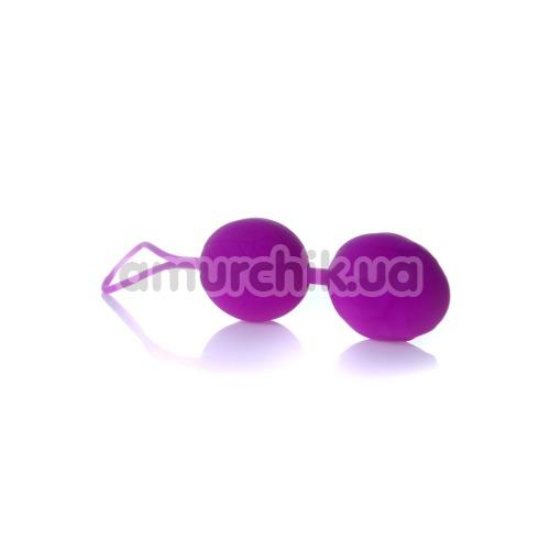 Вагинальные шарики Boss Silicone Kegel Balls, фиолетовые