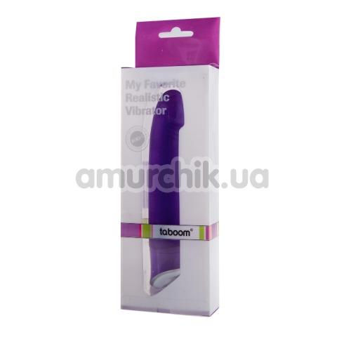 Вибратор My Favorite Realistic Vibrator, фиолетовый