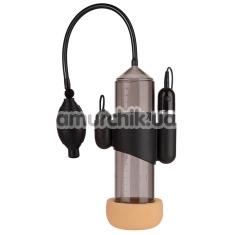 Вакуумная помпа с вибрацией Lust Pumper Vacuum Penis Pump - Фото №1