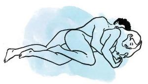 Секс на боку - что может быть удобней?