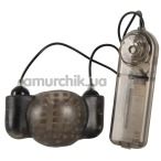 Мастурбатор для головки с вибрацией Stimulation Glans Sleeve with Vibration, черный - Фото №1