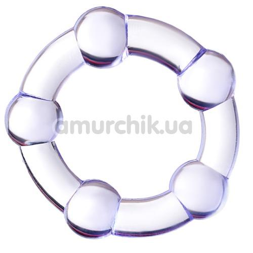 Эрекционное кольцо A-Toys 768016, фиолетовое