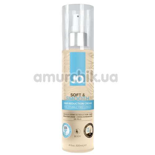 Сыворотка для замедления роста волос JO Soft & Smooth Hair Reduction Cream, 120 мл