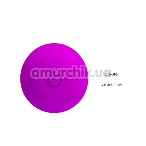 Клиторальный вибратор Pretty Love Freda, фиолетовый