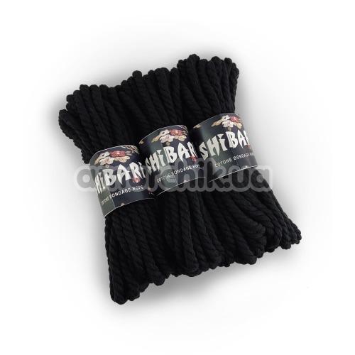 Веревка Feral Feelings Shibari 8м хлопковая, черная