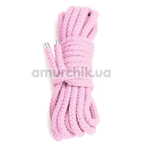 Веревка sLash Bondage Rope Pink 3м, розовая