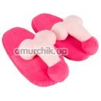 Тапочки-приколы Penis Slippers Pink - Фото №1