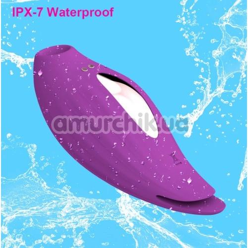Симулятор орального секса с вибрацией для женщин Sucking Vibrator PL-VR292, фиолетовый