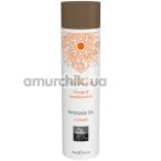 Массажное масло Shiatsu Body Oil Energizing Orange & Sandalwood - апельсин и сандаловое дерево, 100 мл - Фото №1