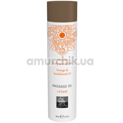 Массажное масло Shiatsu Body Oil Energizing Orange & Sandalwood - апельсин и сандаловое дерево, 100 мл