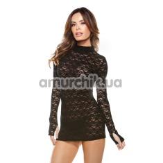 Комплект Vixen черный (модель B189): платье + трусики-стринги