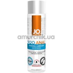 Анальный лубрикант JO Anal H2O Warming с согревающим эффектом, 120 мл - Фото №1