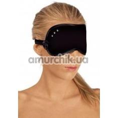 Маска на глаза со стразами Mask, черная - Фото №1