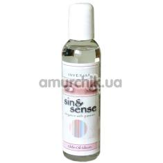 Массажное масло Sin & Sense Glide Oil Silicon, 150 мл - Фото №1