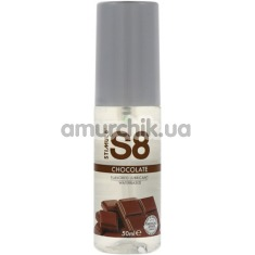 Оральный лубрикант Stimul8 Flavored Lube - шоколад, 50 мл