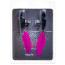Зажимы для сосков широкие с перышками Lucky Bay Nipple Play, розовые - Фото №2