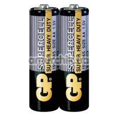 Батарейки GP Supercell Super Heavy Duty AA, 2 шт - Фото №1