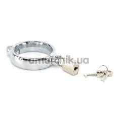 Эрекционное кольцо Metal Worx Cockring Medium - Фото №1