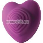 Клиторальный вибратор Rocks-Off Heart Throb, фиолетовый - Фото №1