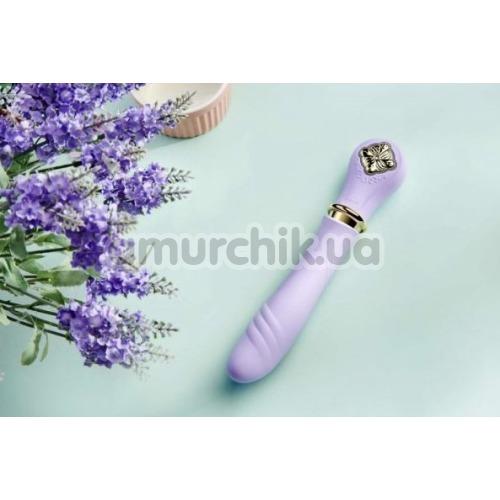 Вибратор с подогревом Zalo Desire Pre-Heating Thruster, фиолетовый