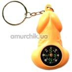 Брелок - сувенир пенис с компасом - Фото №1