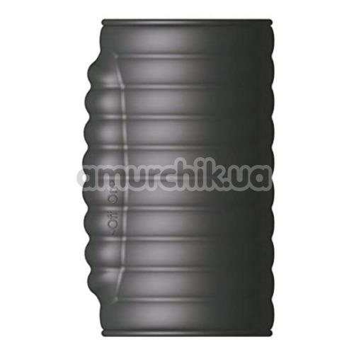 Вибронасадка на пенис Dorcel Deepvibe, черная - Фото №1