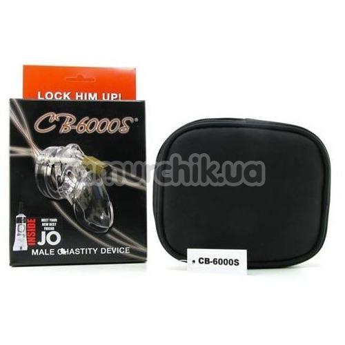Пояс верности CB-6000S Male Chastity Device, прозрачный