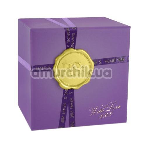 Клиторальный вибратор Rianne S Heart Vibe, фиолетовый