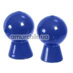 Вакуумные стимуляторы для сосков Nipple Pleaser, голубые