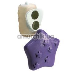 Клиторальный вибратор Vibrating Panty Pal Star - Фото №1