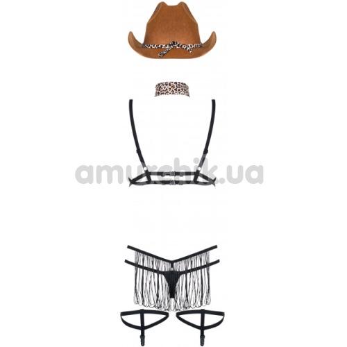 Костюм шерифа Obsessive Cowgirl 832-CST-1