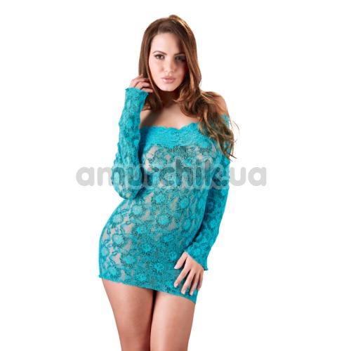 Платье Cottelli Collection Party 2713802, бирюзовое - Фото №1