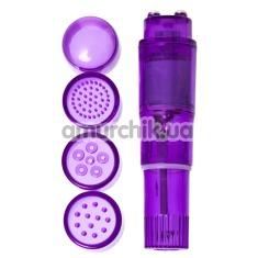 Клиторальный вибратор Erotist Adult Toys Mini Vibrator 541015, фиолетовый - Фото №1