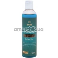 Лубрикант с охлаждающим эффектом Vibratissimo Play Gel Cooling Blue, 250 мл - Фото №1