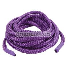 Веревка Japanese Silk Love Rope 5 м, фиолетовая - Фото №1